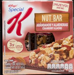 Special K Barra de Cereal Nut Bar Arándano y Almendras