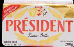Mantequilla President sin Sal 200 g