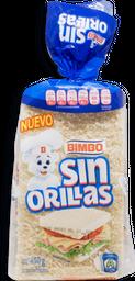 Pan Bimbo de Caja Blanco Sin Orillas 450 g