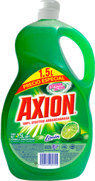 Lavatrastes Axion Aroma Limón 1.5 L