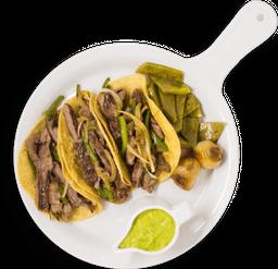 Tacos de Arrachera Importada