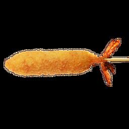 Kushiage de Camarón con Queso