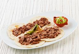 4 Tacos de Arrachera