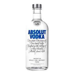 Vodka Absolut Original 750 mL