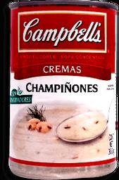 Campbells Crema de Champiñones