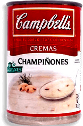 Crema Campbell's de Champiñones 300 g