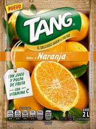 Polvo Soluble Tang Sabor Naranja 15 g