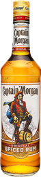 3x2 Ron Captain Morgan Spiced 750 mL