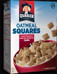 Cereal Quaker Oatmeal Squares Canela 411 g