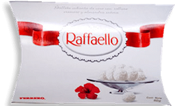 Chocolates Raffaello Pieza 60 g