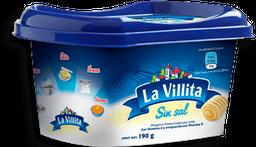 Margarina La Villita sin Sal Untable 190 g