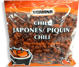 Chile Piquín  Soriana Japonés 100 g