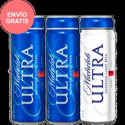 Cerveza Michelob Ultra Superior Light Beer Lata 355 mL x 6