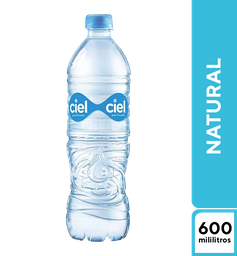 Agua Ciel Natural 600 ml