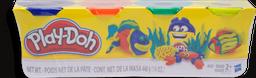 Juguete Infantil Play-Doh Masa  4 U