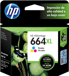 Cartucho HP 664XL