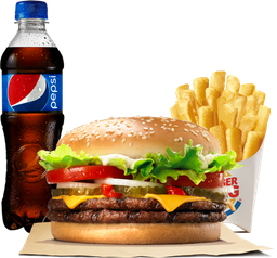 Combo Whopper® Doble con Queso