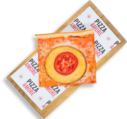 Rebanada de Provolone y Pomodoro