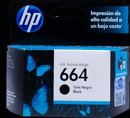 Cartucho HP 664 Para Impresora Negro 1 U