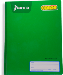 Cuaderno Norma Cosido Raya 100 Hojas 1 U