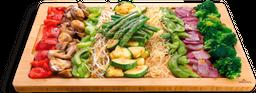 Teppanyaki de Vegetales