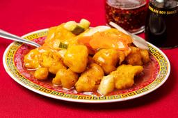 Pollo con Salsa de Ostión