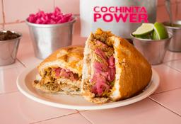 Torta Cochinita Pibil