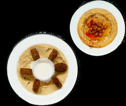 Paquete Hummus y Falafel
