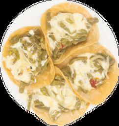 Tacos de Nopalqueso
