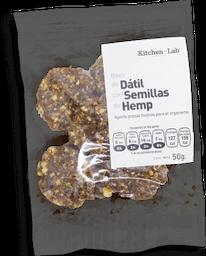 Bites de Dátil con Semillas de Hemp