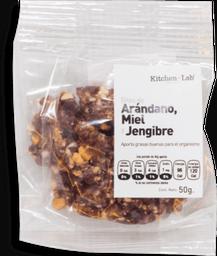 Bites de Arándano, Jengibre y Miel