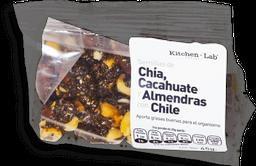 Semillas de Chía, Cacahuate y Almendras con Chile