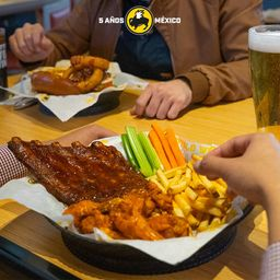 Wings and Ribs Combo