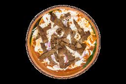 Chilaquiles con Bistec