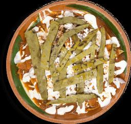 Chilaquiles con Nopalitos