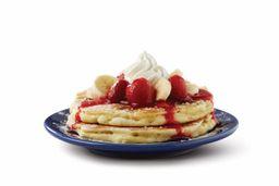 Pancakes Strawberry Banana