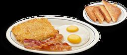 Quick 2 Egg Breakfast