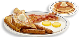 Pancakes Split Decision Breakfast