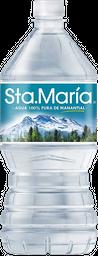 Agua Santa María Natural 1 L