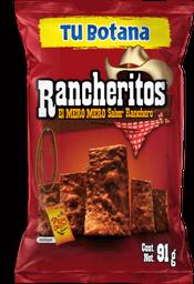 Botana Rancheritos 91 g