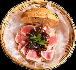 Hamburguesa de Filete de Atún