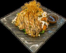 Thai con Pollo y Tres Lechugas