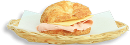 Croissant con Jamón