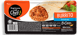 Burrito El Cazo Barbacoa 110 G