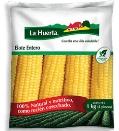 Elote La Huerta Entero Congelado 4 U