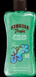 Gel Humectante Hawaiian Tropic After Sun  Aloe Vera 240 mL