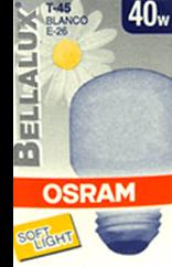 Foco Osram Bellalux Blanco 40 W 1 U