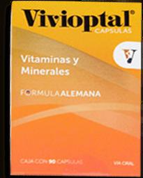 Multivitamínico Vivioptal Fórmula Alemana 90 Cap