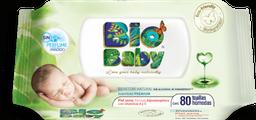 Toalla Húmeda Bio Baby Wipies 80 U