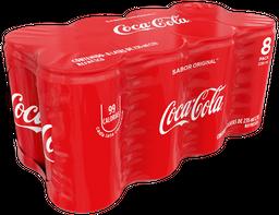 Refresco Coca-Cola 235 Ml 8-Pack Lata